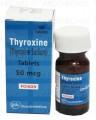 Thyroxine Tab 50mcg 100's