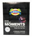 Moments Dotted Delay Condom 3's