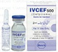Ivcef Inj 500mg 1Vial