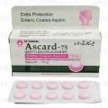 Ascard-75 Tab 75mg 3x10's