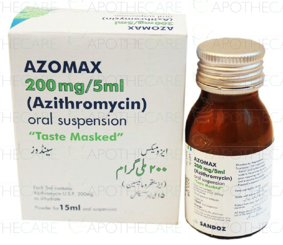 Azomax azithromycin sandoz