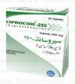 Ciprocide-250 Tab 250mg 10's