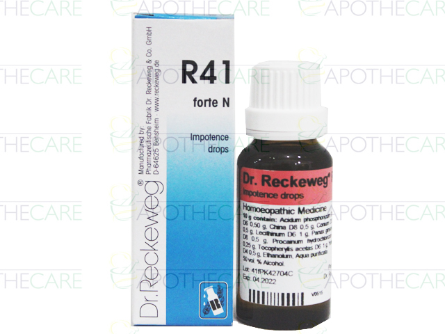 R-41 Forte Impotence Drops (Forte) 22ml