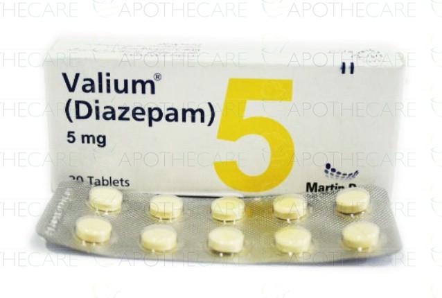 Diazepam mg 2 5
