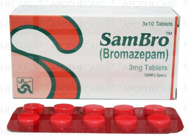 Sambro Tab 3mg 30's
