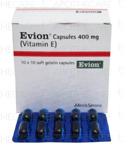 Evion Cap 400mg 10x10's
