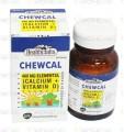 Chewcal Tab 400mg/100IU 30's