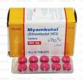 Myambutol Tab 400mg 10x10's