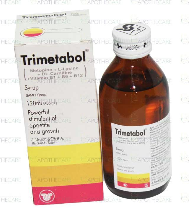 Trimetabol Syp 120ml