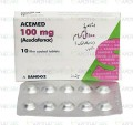Acemed Tab 100mg 10's