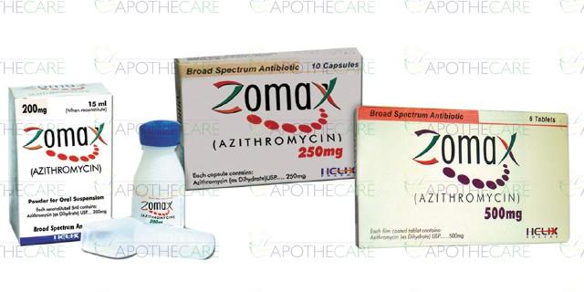 Susp azithromycin 250