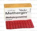 Methergine Tab 0.125mg 50's