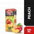 Fruita Vitals Peach-200Ml