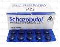 Schazobutol Tab 400mg 10x10's