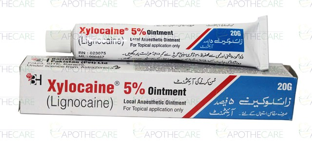 xylocaine 2 percent