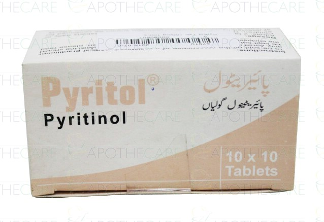 Pyritol Tab 100mg 100 S