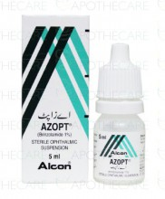 Azopt nt eye drops over the counter