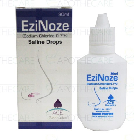 EziNoze Saline Drops 30ml