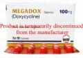 Megadox Cap 100mg 5x10's