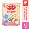 Cerelac Nutripuffs Banana Strawberry 50g