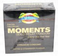 Moments Gold Delay Condom 3's