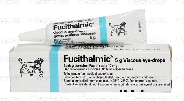 Fucithalmic Viscous Eye Drops 1% 5ml