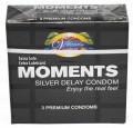 Moments Silver Delay Condom 3's