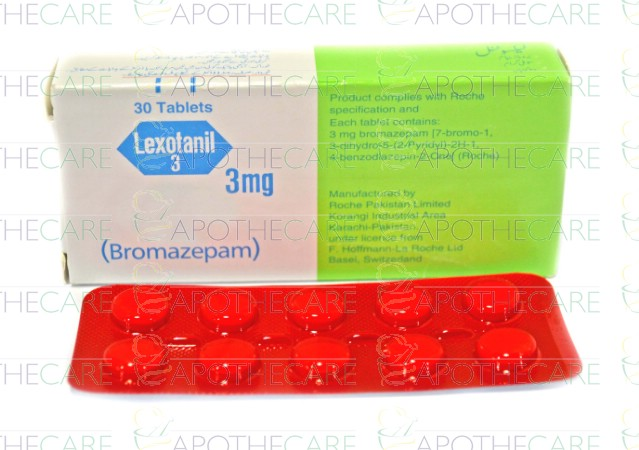 Bromazepam 3 mg prospect