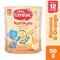 Cerelac Nutripuffs Banana Orange 50g