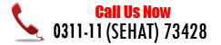 Call Us Now:0800-(SEHAT) 73428
